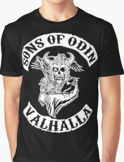 Sons Of Odin - Valhalla Chapter Graphic T-Shirt