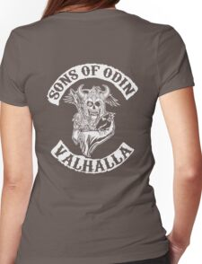 Sons Of Odin - Valhalla Chapter Womens Fitted T-Shirt
