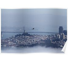 Above the City by the Bay Poster