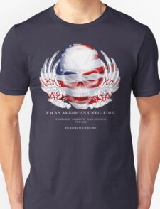 Skull and Wings America T-Shirt