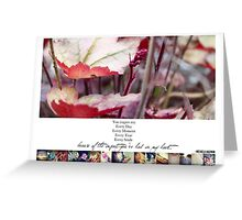 September 2013 - Lost for Words Calendar Greeting Card