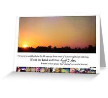 November 2013 - Lost for Words Calendar Greeting Card