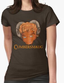 Cumbersmaug Womens Fitted T-Shirt