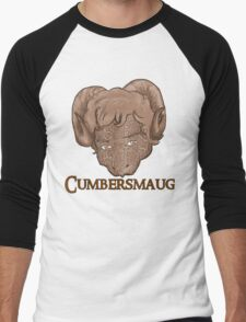 Cumbersmaug (Sepia)  Men's Baseball ¾ T-Shirt