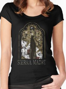 Sierra Madre [Distressed] Women's Fitted Scoop T-Shirt