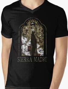 Sierra Madre [Distressed] Mens V-Neck T-Shirt