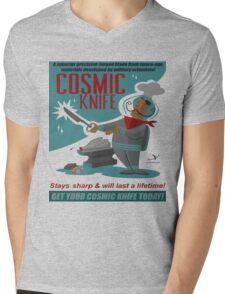 Cosmic Knife Mens V-Neck T-Shirt