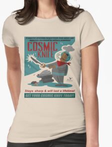 Cosmic Knife Womens Fitted T-Shirt