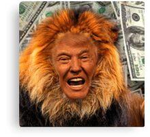 Trump Lion Canvas Print