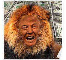 Trump Lion Poster