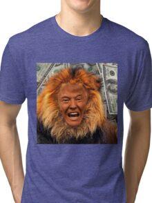 Trump Lion Tri-blend T-Shirt