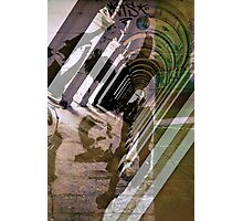 Assange - Underground Photographic Print