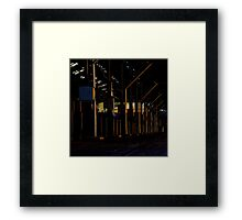 Not really the carriage works Framed Print