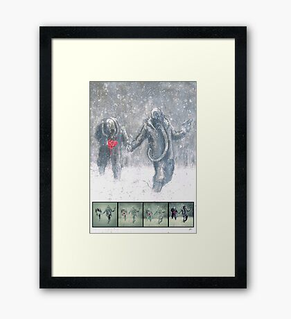 Brothers (Process) Framed Print