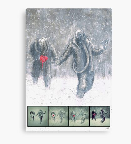 Brothers (Process) Canvas Print
