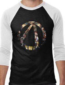 Borderlands - Characters and Vault Men's Baseball ¾ T-Shirt