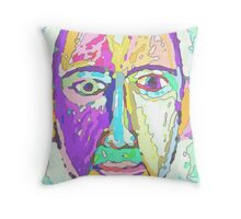 looks like me a bit, in colour Throw Pillow