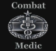 U.S. Army Combat Medic Badge (t-shirt) by Walter Colvin