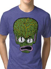 Saucer Man Tri-blend T-Shirt