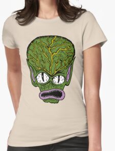 Saucer Man Womens Fitted T-Shirt