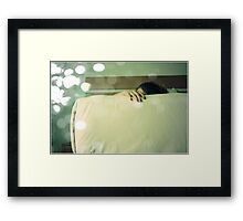 parts of me, the first one Framed Print