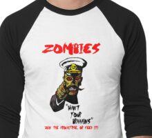 Zombie Recruitment Men's Baseball ¾ T-Shirt