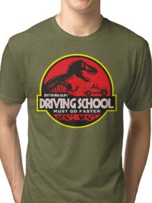 Doc Malcolm's Driving School Tri-blend T-Shirt