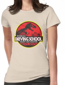 Doc Malcolm's Driving School Womens Fitted T-Shirt