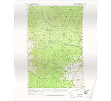 USGS Topo Map Washington State WA Loup Loup 242078 1956 62500 Poster