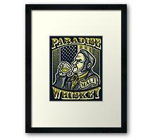 Paradise Whiskey Framed Print