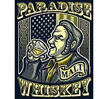 Paradise Whiskey Photographic Print