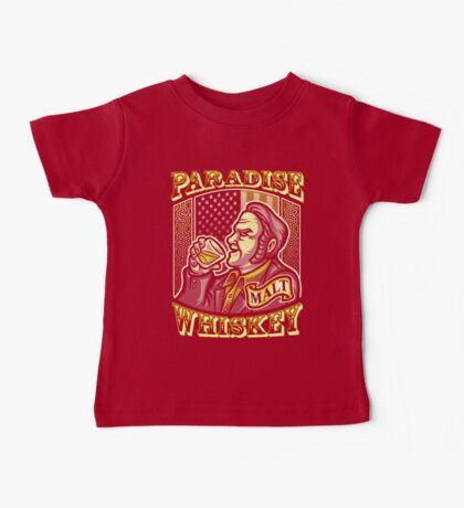 Paradise Whiskey Baby Tee