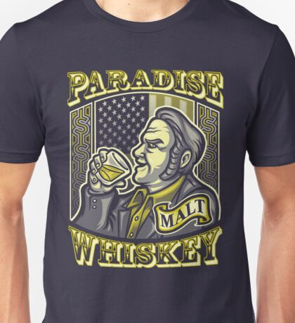 Paradise Whiskey Unisex T-Shirt