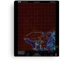 USGS TOPO Map Guam Apra Harbor 462371 2000 24000 Inverted Canvas Print