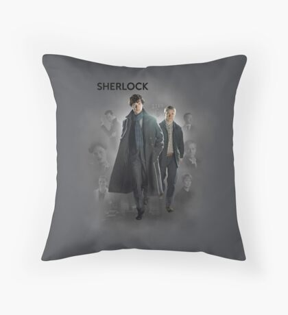 BBC Sherlock Throw Pillow