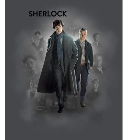BBC Sherlock Sticker