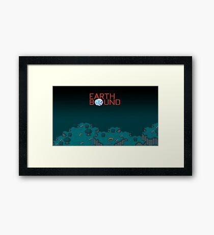 Earthbound Videogame Framed Print
