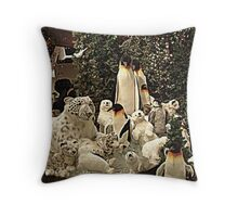 Beautiful Cold Climate Themed Stuffed Animals, Boyds Bear Throw Pillow