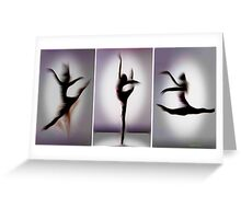 Floating Dance. From dance series. Greeting Card