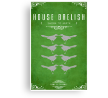 House Baelish Canvas Print