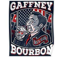Gaffney Bourbon Poster