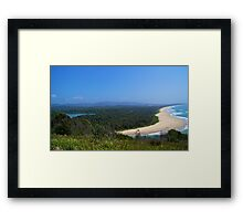 Endless Blue. Framed Print