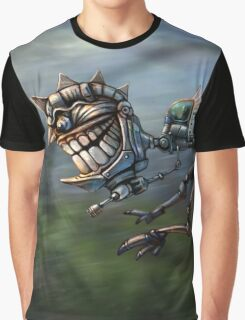 Aztec Mech Graphic T-Shirt