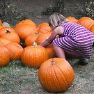 Child vs. Pumpkin I by waddleudo