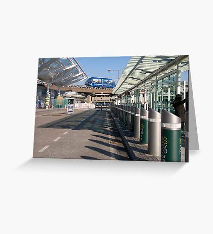 Birmingham Airport, England Greeting Card