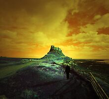 LINDISFARNE CASTLE  by leonie7