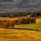 Countryside Autumn Colors by Erik Brede