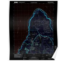 USGS TOPO Map Guam Ritidian Point 462403 2000 24000 Inverted Poster