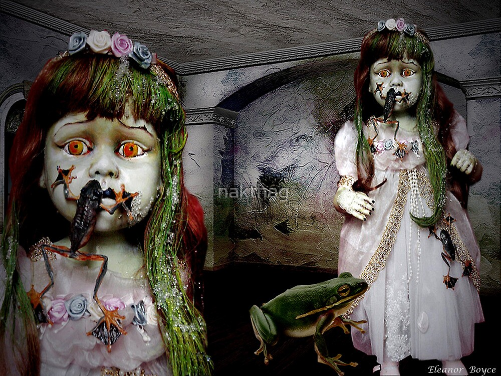 NURSERY CRYMES Frogilli 'In A Doll House' by nakthag