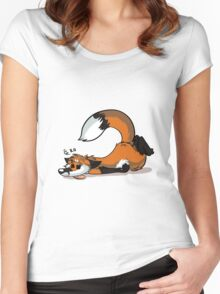 Dead Fox Women's Fitted Scoop T-Shirt